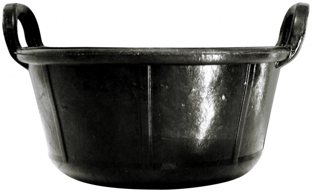 Outil de maçon : Carbonera de maçon - caoutchouc