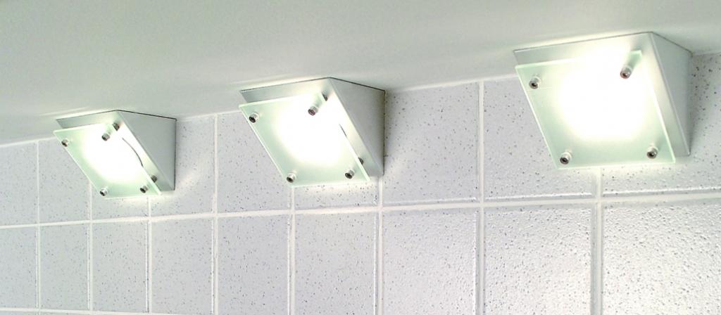 Luminaire halogène : Kit zéro aluminium - 20 W/12 V