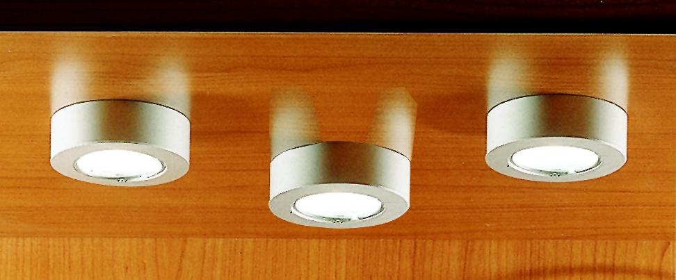 Luminaire halogène : Saturno aluminium