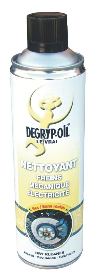 Produits de maintenance : Dégraissant nettoyant sec Degryp-oil