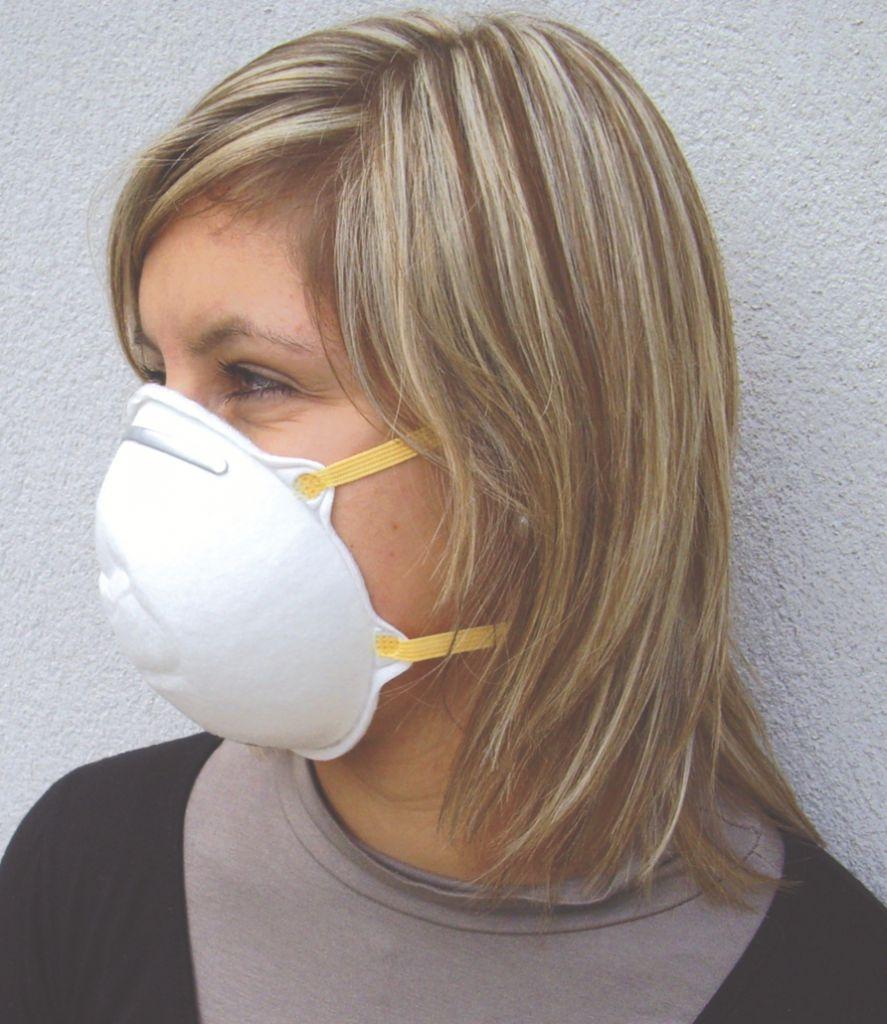 Masque coque jetable : Masque jetable FFP2
