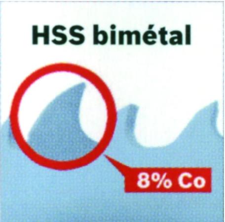 SCIE TREPAN BOSCH HSS BIMETAL  22MM