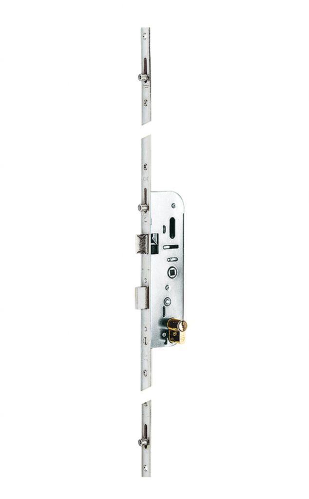 Sûreté multipoint à larder : Vachette 20515 - têtière bouts carrés 18 mm
