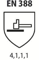 Gants nitrile et néoprène : Nitrile léger sur support jersey