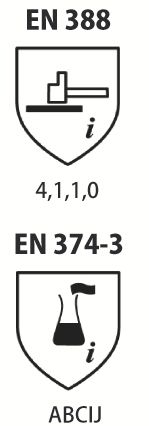 GANTS TOUTRAVO VE509 TAILLE 8,5