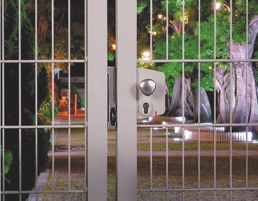 Verrouillage de portail : Serrure électrique LEKQ U4