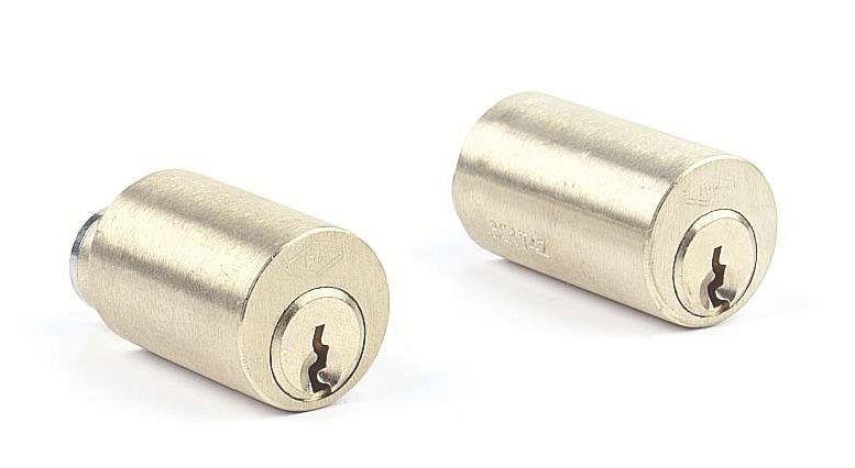 Serrure multipoint en applique : Cylindre rond pour série Véga