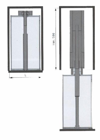 Agencement de cuisine : Pour caisson 300 et 400 mm (L)