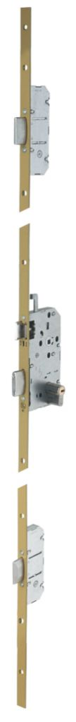 Sûreté à larder multipoints à pêne dormant : Série 5000  Coupe-feu / pare-flamme 1/2 heure NF P26-414