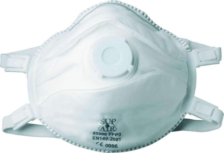 Masque coque jetable : FFP3D NR SL