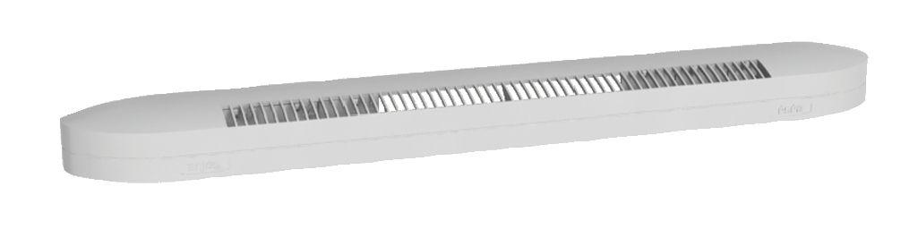 Ventilation : Entrée d'air auto-réglable acoustique type ESEA