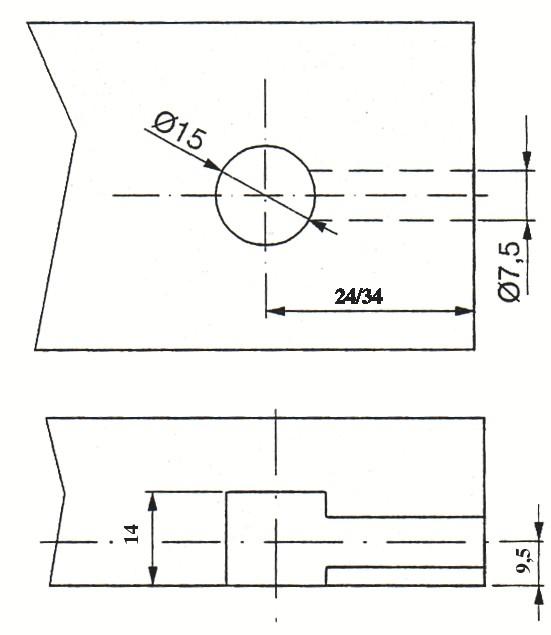 ASSEMBLEUR STD D.15 P/PAN.EP19MM