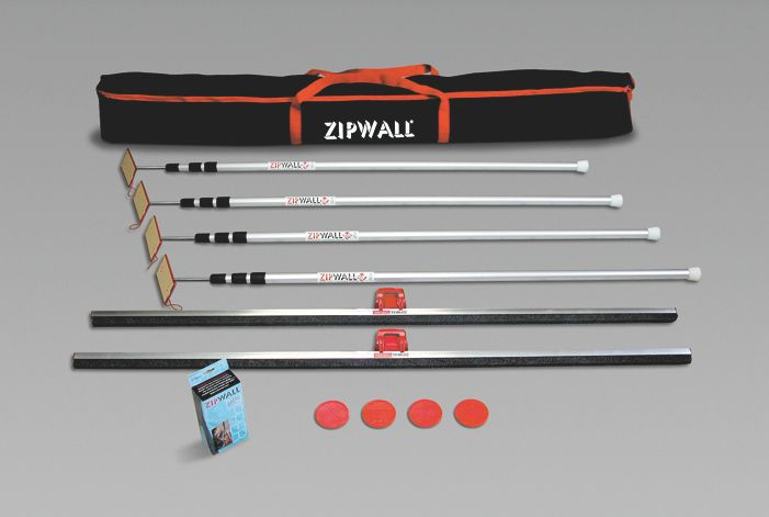 PACK ZIPWALL 4 PERCHES 1M58/3M60