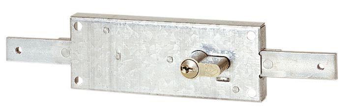 Serrure de rideau métallique : Pour cylindre européen
