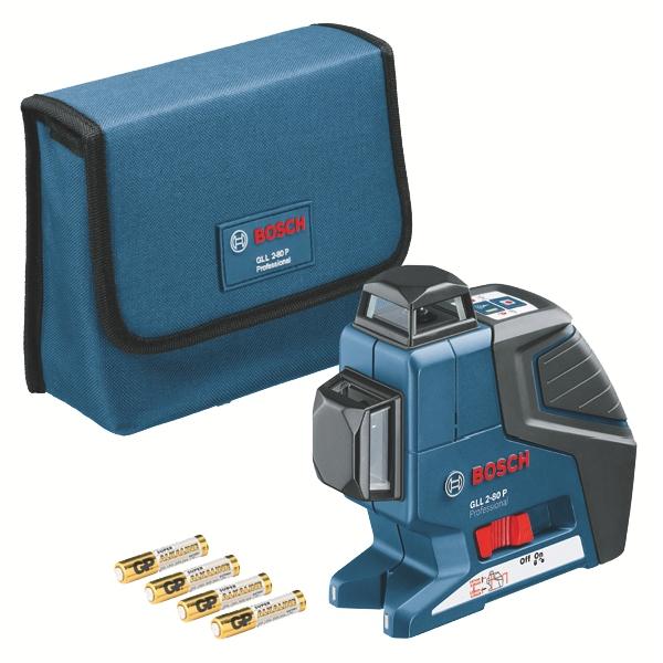 Laser de chantier : Laser en croix 2 plans GLL 2-80 P