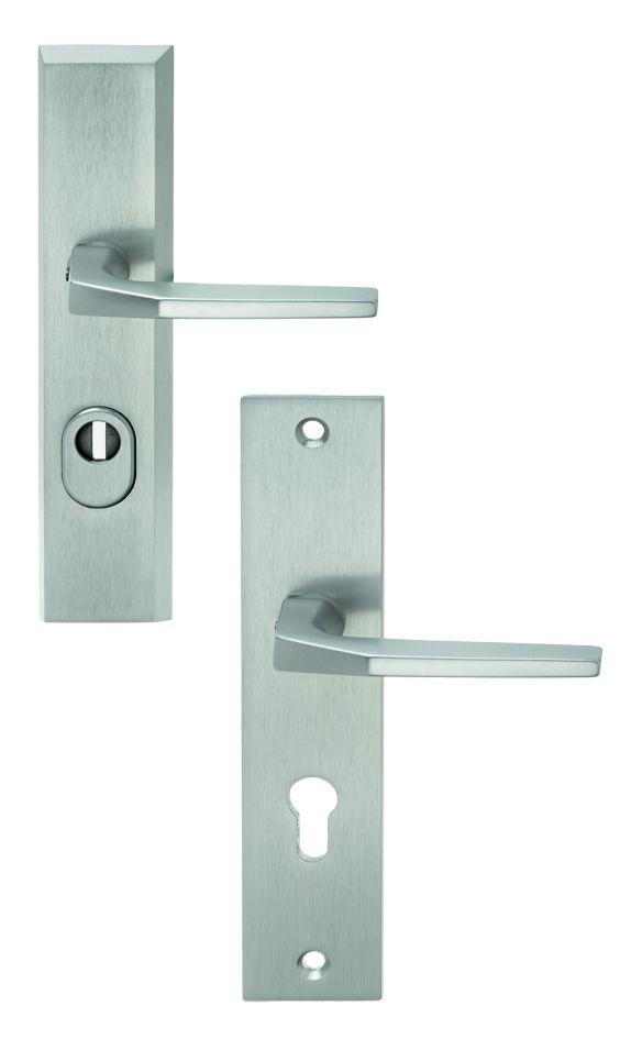 Ensemble de sécurité : Plaque 240 x 52 mm - entraxe de fixation 211 mm