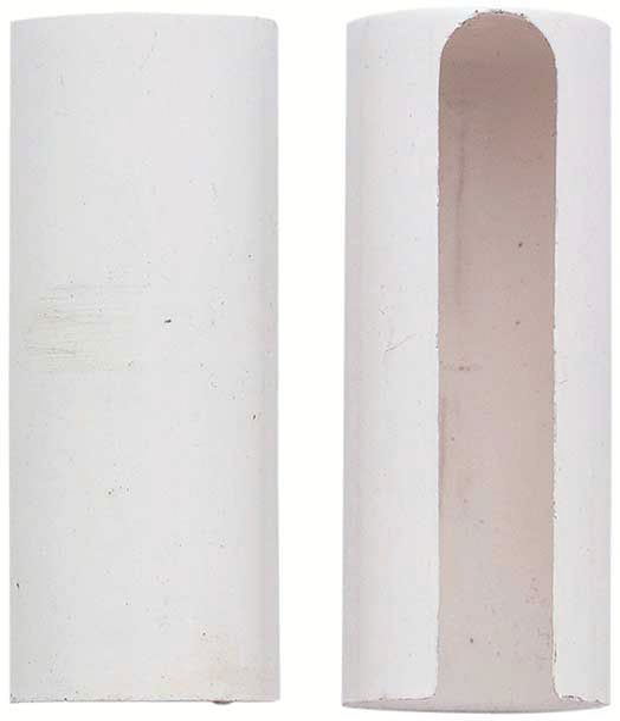 Cache-fiche et cache-paumelle : Cache-fiche nylon blanc