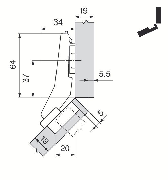 CH. INSERTA 45° OUV. 95 79A9698