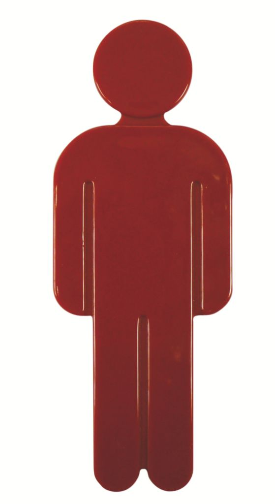 IDEOGRAMME HOMME ROUGE