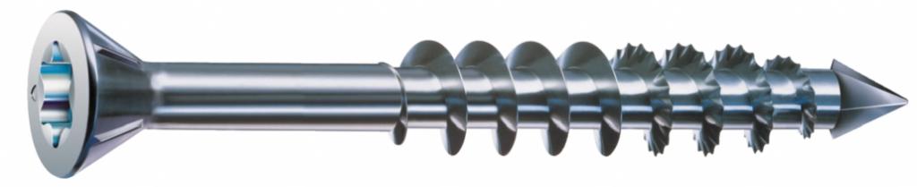 WIROX A3J Lot de 100 vis pour constructions en bois Spax 251010601005 4CUT 6/x 100/mm filetage partiel T-STAR Plus t/ête disque