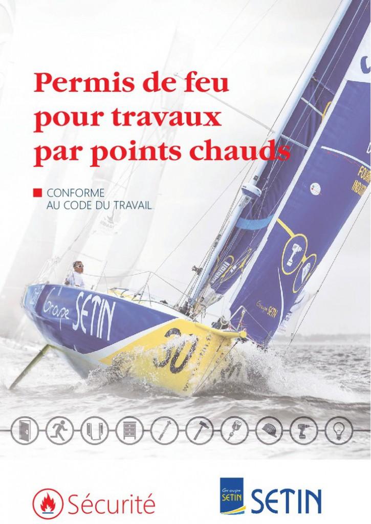 Carnet de permis de feu