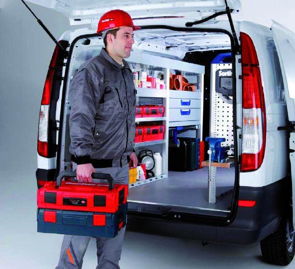 Fixation de tube : Coffret L-Boxx plombiers