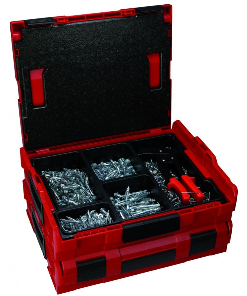 MALLETTE LBOXX 500 CHEV.METALLIQUES