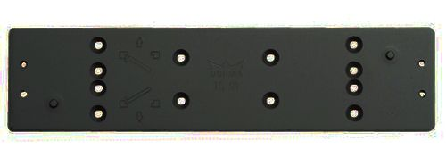 PLAQUE MONTAGE TS91 NOIRE 9005