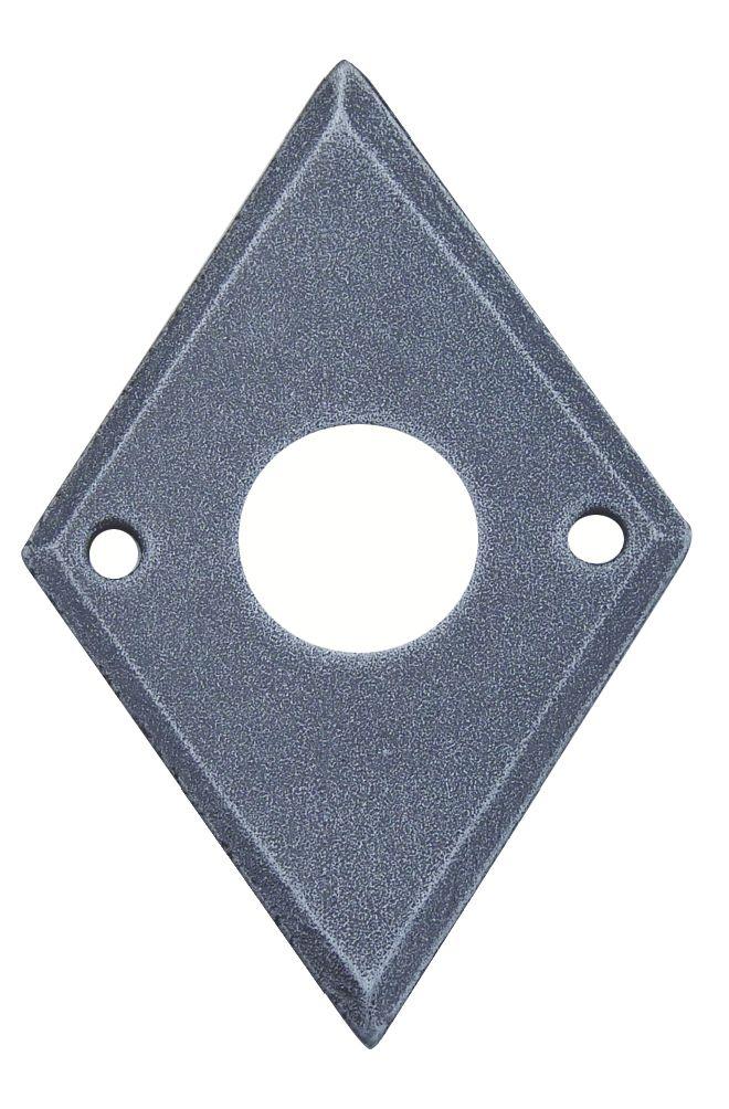 Accessoire pour bouton et béquille : Entrée losange 42 x 63 mm