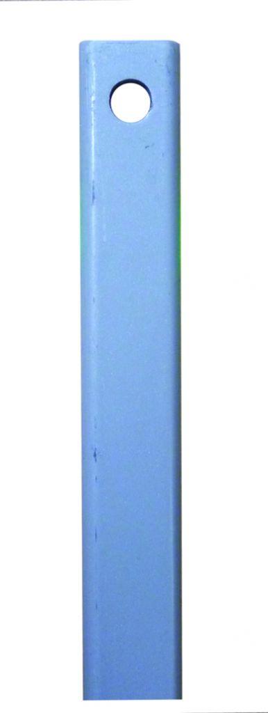 Crémone en applique : Tringle fer plat - 16 x 6 mm