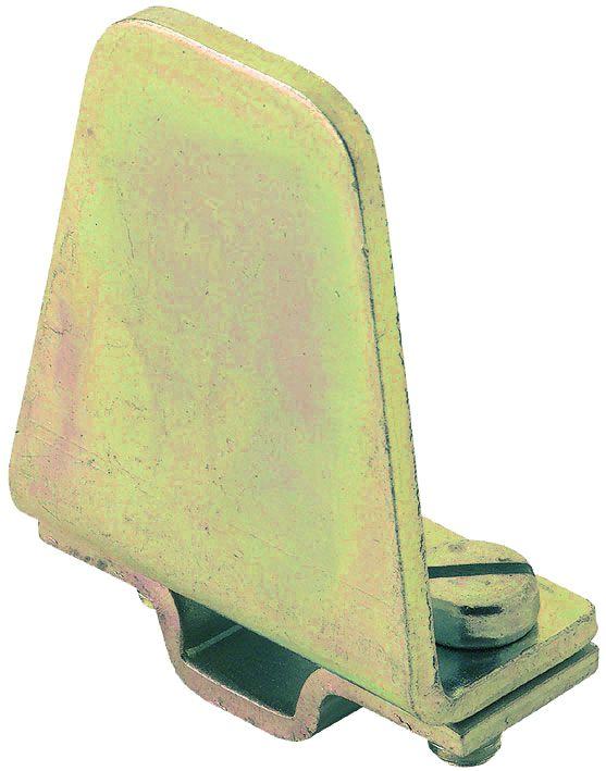 Ferrure de volet et portail : Butée pour arrêt à sceller - pour fer carré de 9 mm