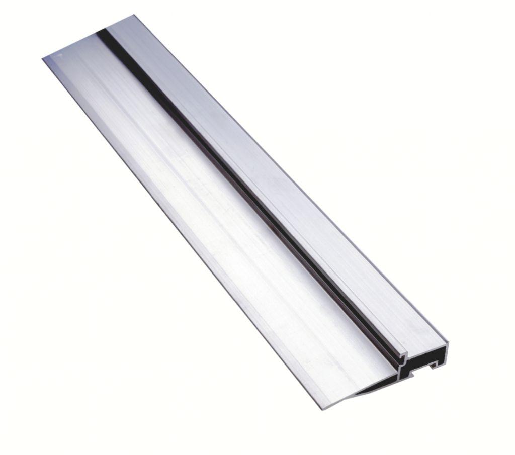 Seuil aluminium pour le bois : Pour ouvrant extérieur - type OELT