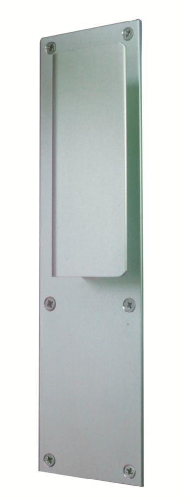 Poignée de porte battante : Dimension 250 x 70 mm