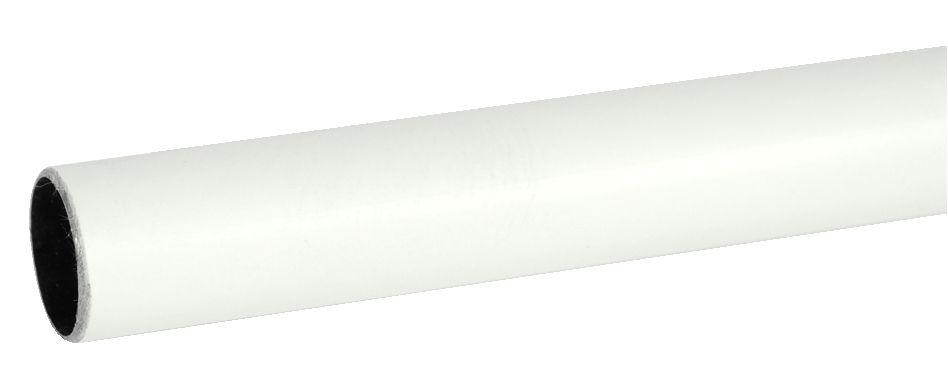 TUBE ACIER LAQUE BLANC D16 3M