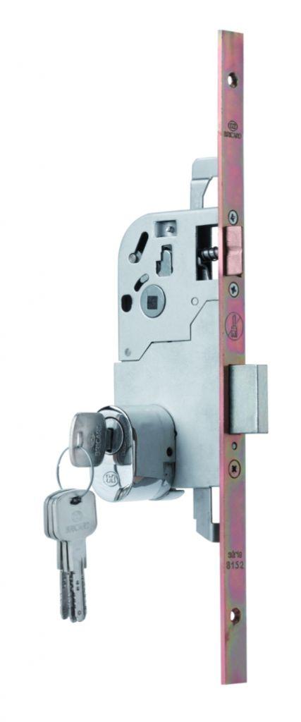 Sûreté à larder multipoints à pêne dormant : Série 8152 NFQC avec label A2P** Coupe-feu / pare-flamme 1 heure