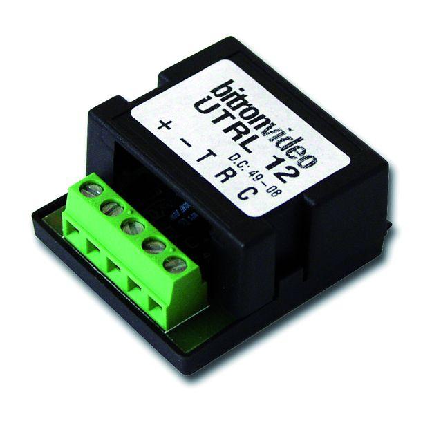 Accessoire interphone : Relais de commande pour interphone 12V - 10 A