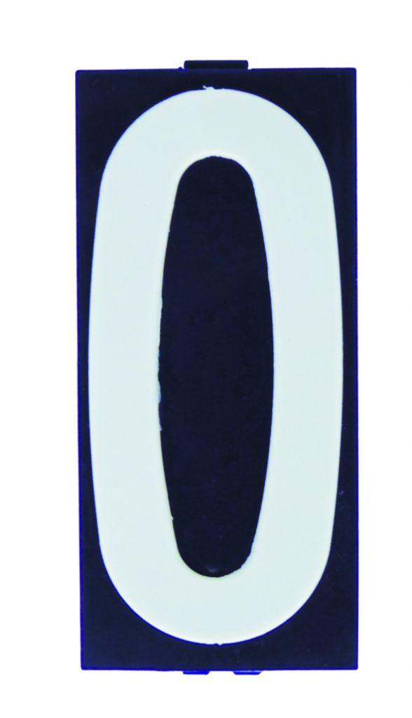 Signalétique : Plaquette pour support de numérotation des immeubles, villas, etc...