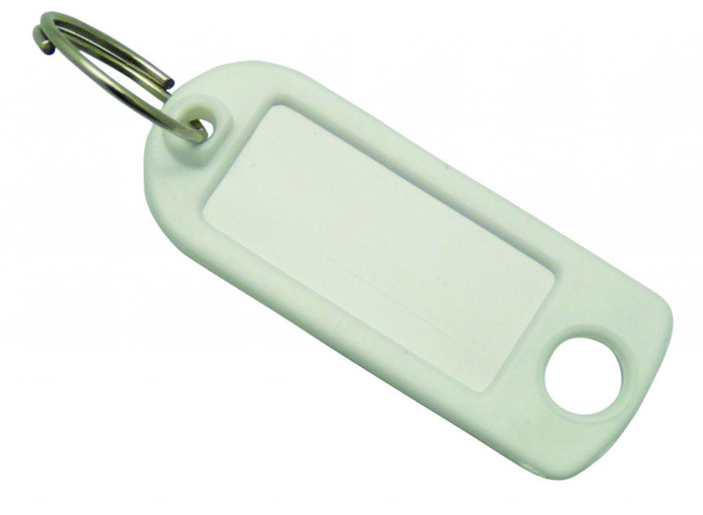Ordonnancement : Étiquette de clé plastique
