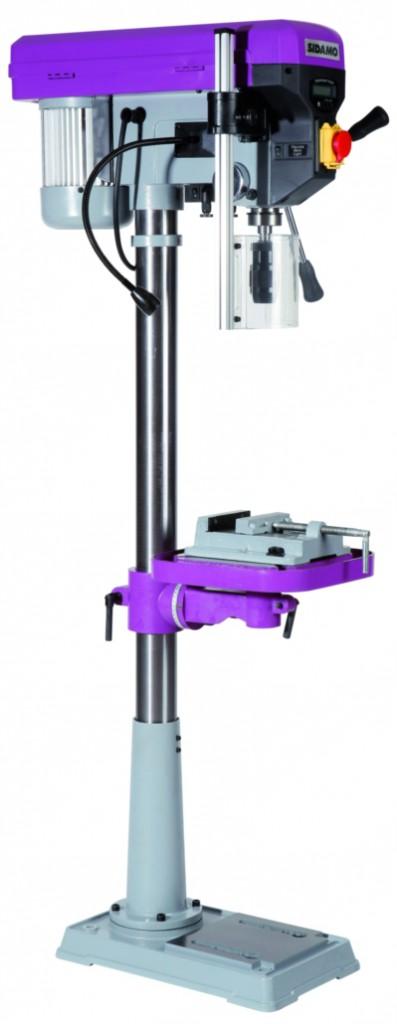 Machine stationnaire travail du métal : Perceuse sur colonne modèle PC 22 FC