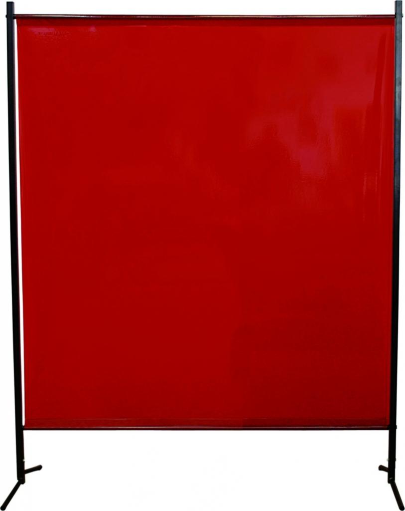 Rideau - toile - tente de soudage : Ecran à rideau suspendu orange