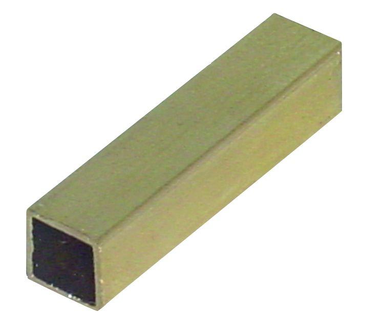 Accessoire pour bouton et béquille : Fourreau laiton - 50 mm