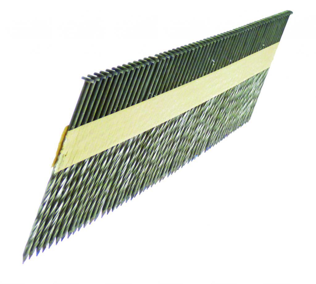 Agrafage et clouage pneumatique : Pointe D - tête plate torsadée - galvanisée - pour Framepro 651