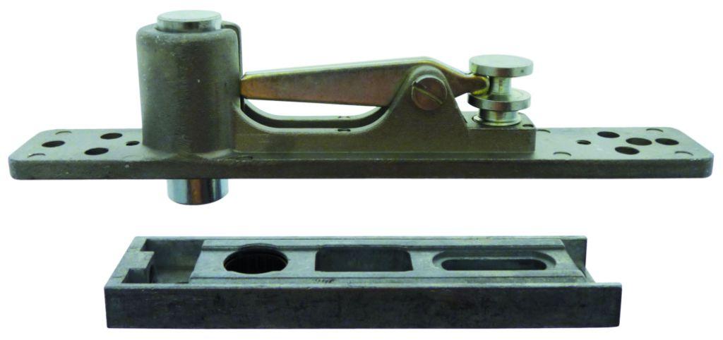Pivot à frein Dorma : Pour porte acier - aluminium et bois - double action
