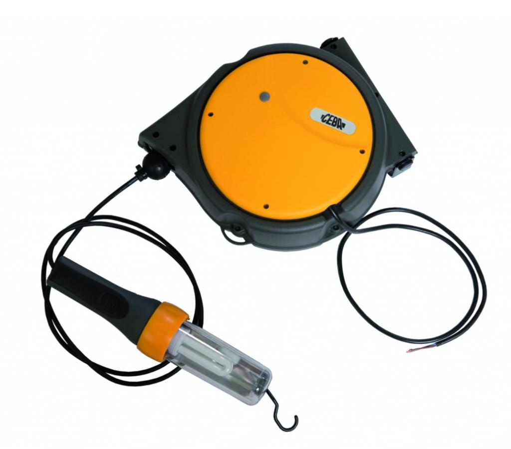 Baladeuse : Sur enrouleur à rappel automatique