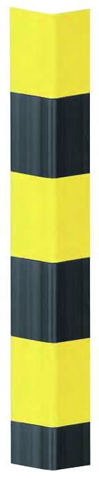 Protection des personnes et matériel : Protection d'angle jaune et noire