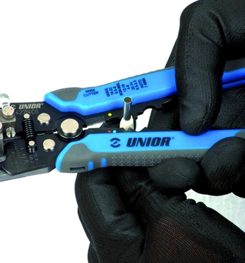 Pince à sertir : Pince à prise à sertir - série 427/4CG