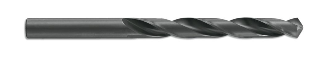 Foret à métaux : Foret HSS bleu noir taillé meulé - queue cylindrique court
