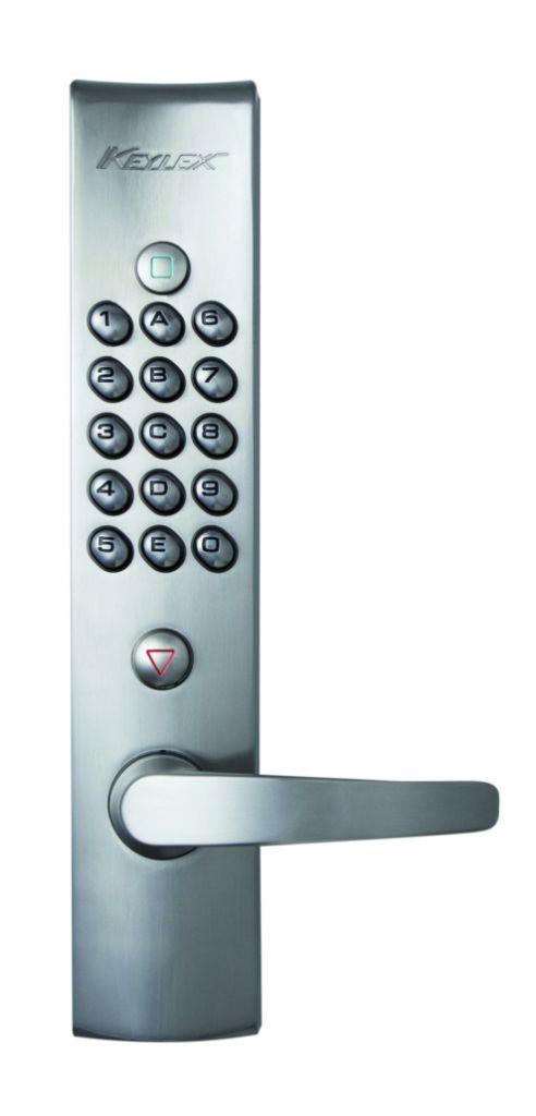 Verrou et serrure à code mécanique : Keylex 4000