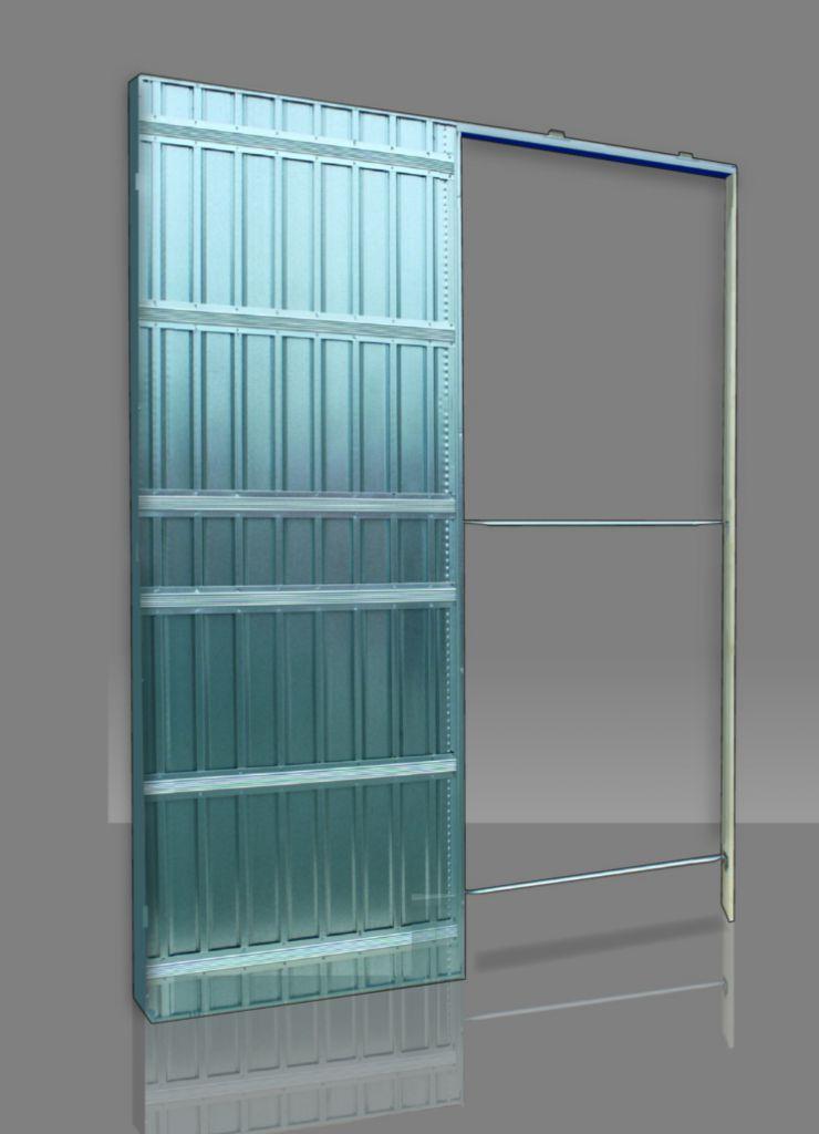 Ferrure de porte coulissante à galandage : Série Doortech