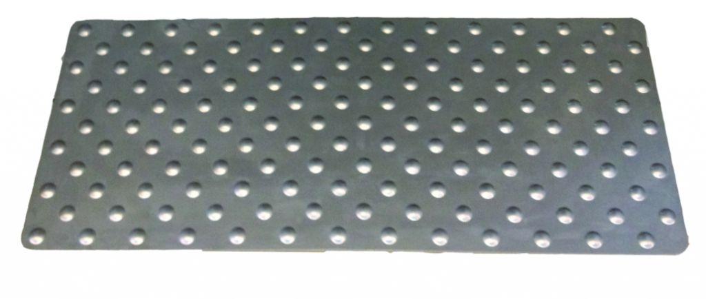 Accessibilité : Dalle podo-tactile inox A2